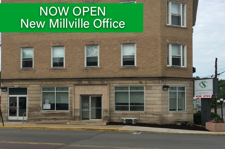 Millville Branch office now open